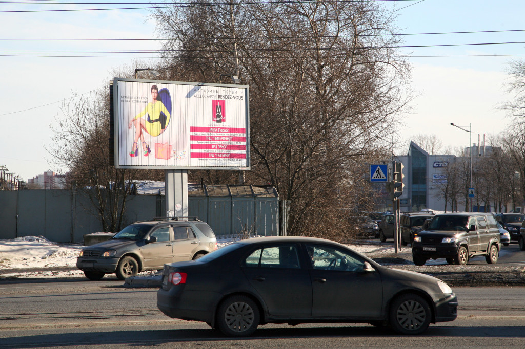 Витебский проспект: Салова улица - prismavision