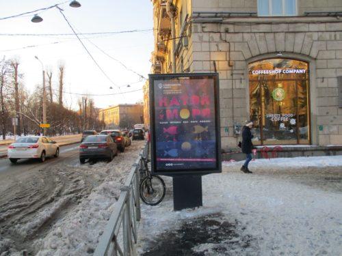 Кронверкский пр., д. 21 — Каменноостровский пр. напротив ст.м. Горьковская